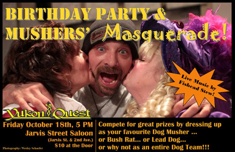 Yukon Quest Birthday Party & Musher's Masquerade